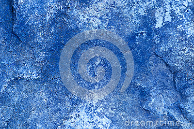 Abstract Stone Background In Blue/ Close Up