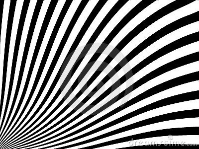 The abstract striped background