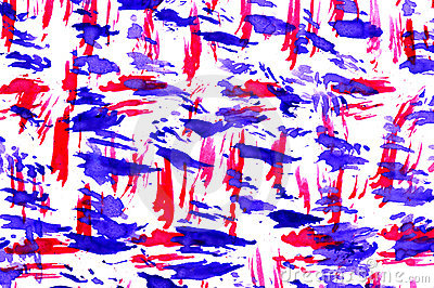 Abstract strokes watercolor background.