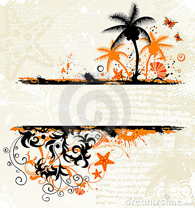 Free Abstract Summer Background Royalty Free Stock Photography - 2652827