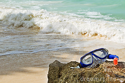 Abstract Summer Beach Theme