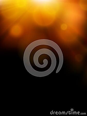 Abstract sunshine illustration