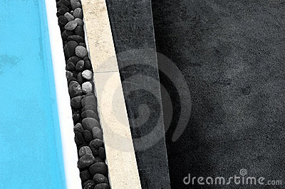 Abstract swimming pool image