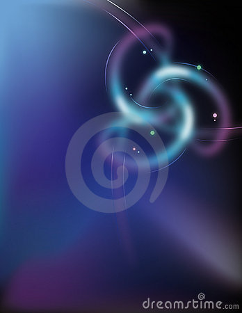 Abstract swirls background.