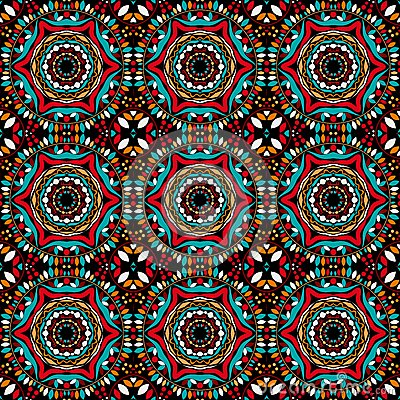 Abstract Symmetric Seamless Background