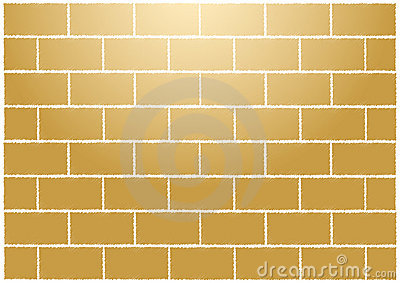 Abstract tan bricks wall