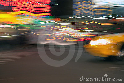 Abstract Taxi Cab