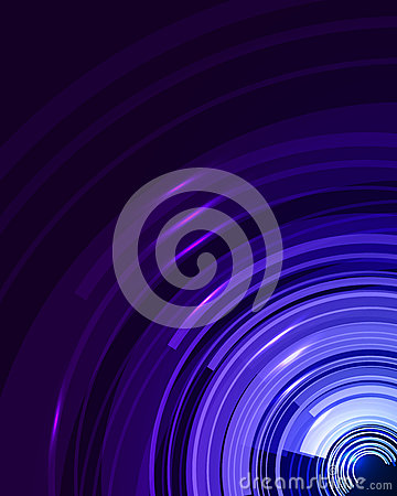Free Abstract Technical Background With Circles And Stripes. Royalty Free Stock Photos - 74372338
