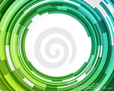 Abstract technology circles