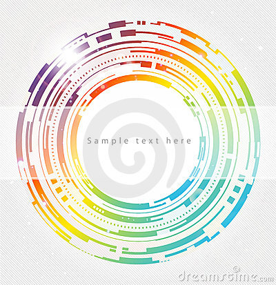 Free Abstract Technology Circles Background Royalty Free Stock Photos - 17923068