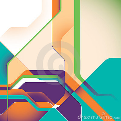Abstract technology illustration.