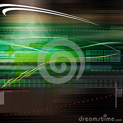 Free Abstract Technology Lines Royalty Free Stock Photography - 30219237