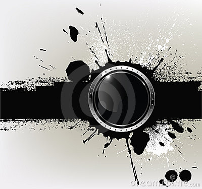 Abstract textured background with a with round glo