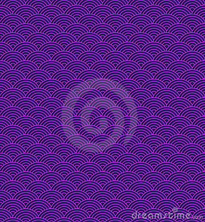 Abstract tiled circle background