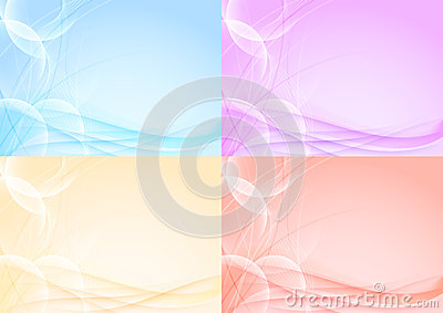 Abstract transparent card template - halftone