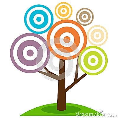 Free Abstract Tree Royalty Free Stock Photos - 13304728