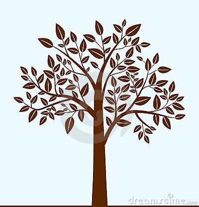 Free Abstract Tree Royalty Free Stock Photography - 18007167