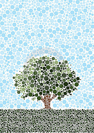 Free Abstract Tree Royalty Free Stock Image - 7832146