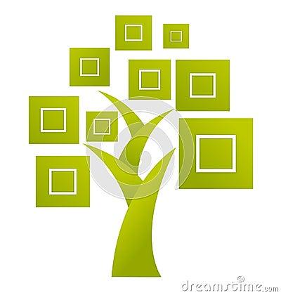 Abstract Tree Logo - Vector Royalty Free Stock Photos ...