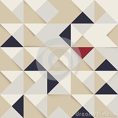 Free Abstract Triangle And Square Pattern Retro Backgro Stock Photography - 31641202