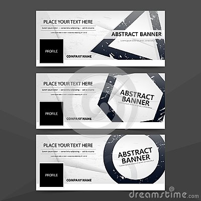 Free Abstract Triangle Hexagon Circle Grunge Banner Template  Royalty Free Stock Photography - 102808167