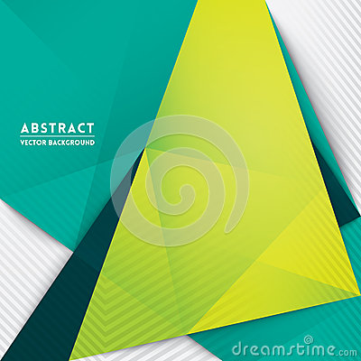 Free Abstract Triangle Shape Background Royalty Free Stock Photography - 37015937