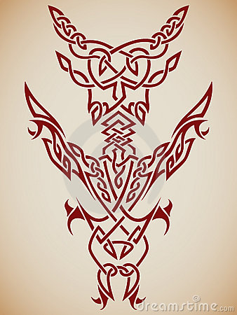 Abstract Tribal Art