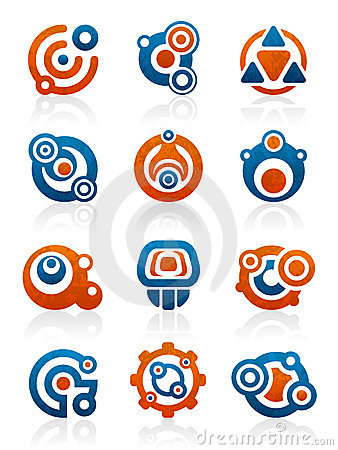 Free Abstract Tribal Icons And Symbols Royalty Free Stock Image - 11235446
