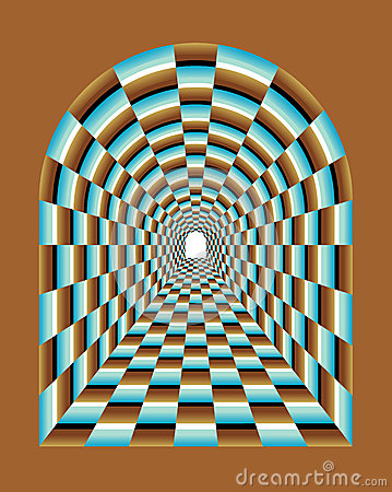 Free Abstract Tunnel Illusion Stock Photo - 40398120