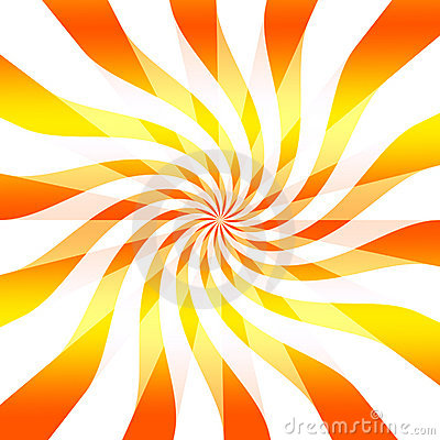 Abstract twisting background