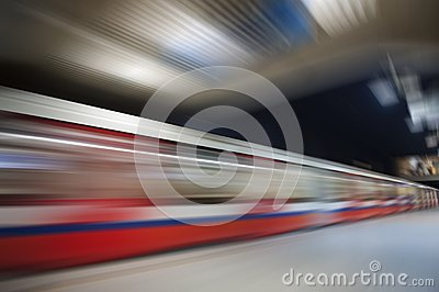 Abstract underground speed motion