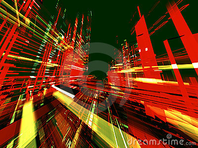 Abstract urbanism background