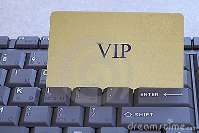 Abstract  V.I.P. card