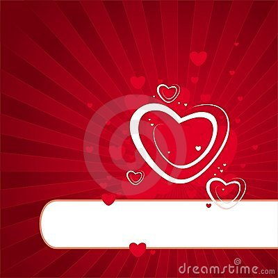 Abstract Valentine Illustration Royalty Free Stock Images - Image: 4080859