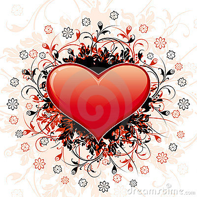 Abstract Valentine s Day Heart