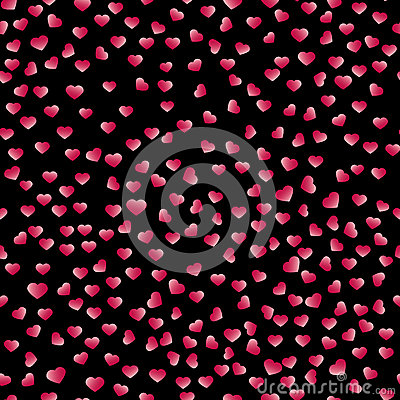 Free Abstract Valentine& X27;s Day Hearts. Red Hearts. Seamless Background For Your Design. Vector Illustration. Love Concept. Royalty Free Stock Photos - 83502678