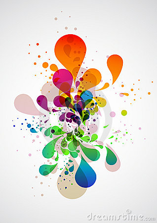 Free Abstract Vector Background Stock Photography - 15008582