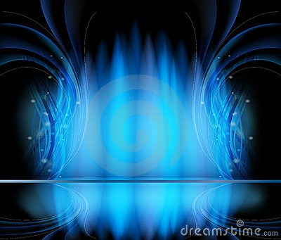 Abstract vector backgrounds blue