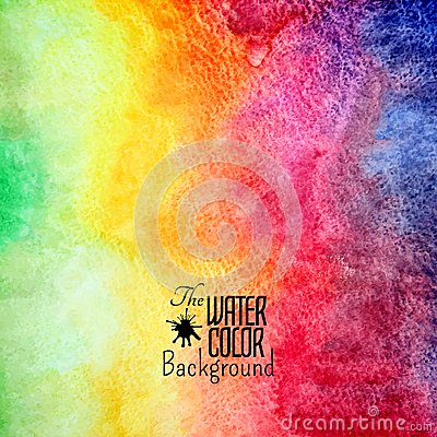 Free Abstract Vector Hand Drawn Rainbow Color Royalty Free Stock Image - 45264116