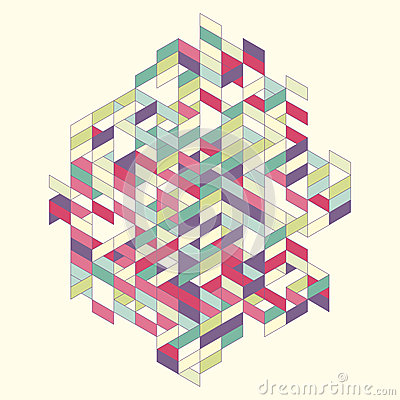Free Abstract Vector Illustration Royalty Free Stock Image - 56884276