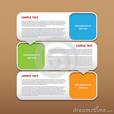 Abstract vector modern infographics for creative work