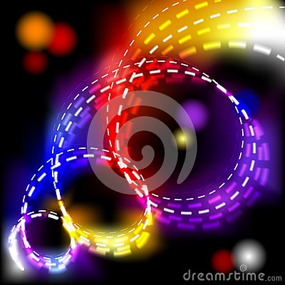 Abstract vector shiny spiral explosion background