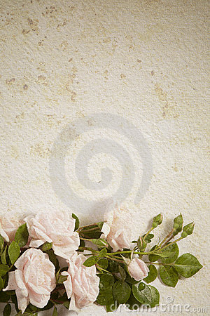 Abstract vintage flower paper background