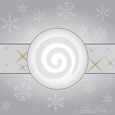 Abstract vintage winter background