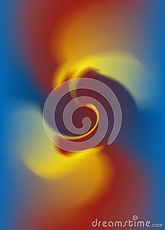 Abstract Vortex Fire