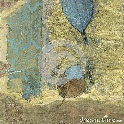 Abstract Wabi-sabi