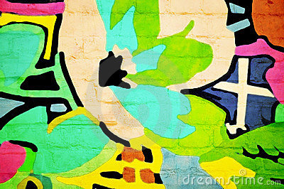 Abstract on a Wall