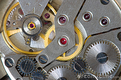 Abstract watch mechanism