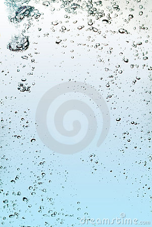 The abstract water splash
