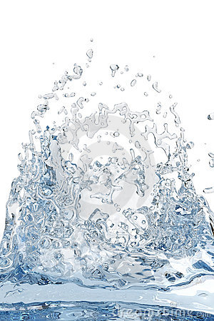 Abstract water, splash